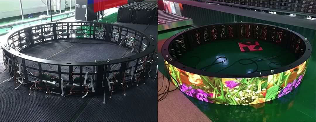 Creative Flexible Soft Ribbon LED Module Display (5)