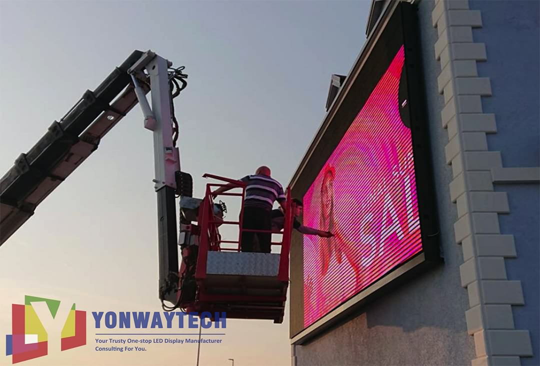 Outdoor Front Maintain LED Display Screen,Advertising Digital Billboard (3)