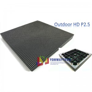 Outdoor HD Narrow Pixel Pitch 2.5mm LED Display Screen,Advertising DOOH Billboard
