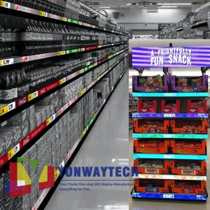 Smartshelf LED Banner Display,Digital Price Tags,Smart Shelf Screen. Yonwaytech,Your Trustworthy One-stop LED Display Manufacturer